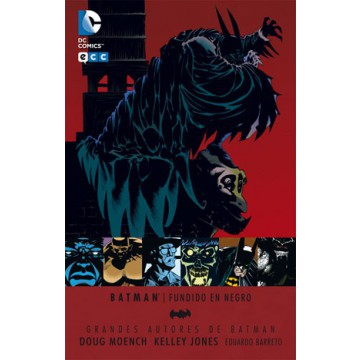 GRANDES AUTORES BATMAN: DOUGH MOENCH Y KELLEY JONES - FUNDIDO EN NEGRO