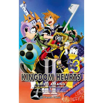 KINGDOM HEARTS II Nº 03
