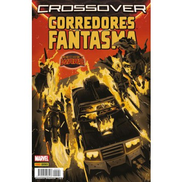 SECRET WARS. CROSSOVER 09: CORREDORES FANTASMA