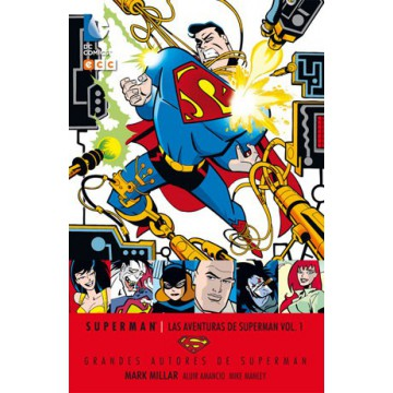 GRANDES AUTORES DE SUPERMAN: MARK MILLAR - LAS AVENTURAS DE SUPERMAN VOL. 01