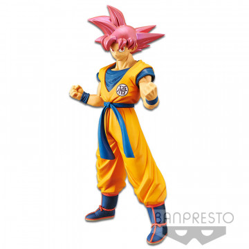 FIGURA SUPER SAIYAN GOD GOKU (DRAGON BALL SUPER BROLY) - CHOUKOKUBUYUUDEN
