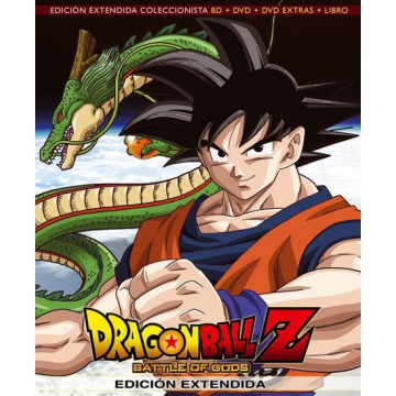 BLURAY DRAGON BALL Z: BATTLE OF GODS (Ed. extendida coleccionista BR+DVD+EXTRAS+LIBRO)