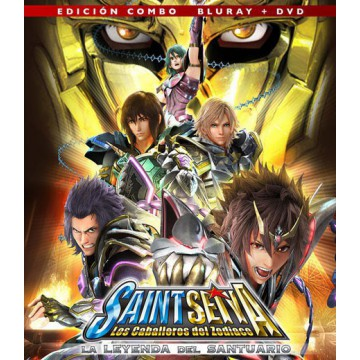 BLURAY SAINT SEIYA, LA LEYENDA DEL SANTUARIO (COMBO BLURAY + DVD)