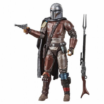 FIGURA THE MANDALORIAN (STAR WARS) - BLACK SERIES CARBONIZED COLLECTION