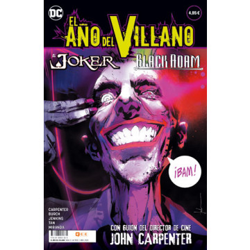 EL AÑO DEL VILLANO 03: JOKER / BLACK ADAM