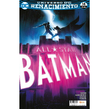 ALL-STAR BATMAN 14 (Renacimiento)