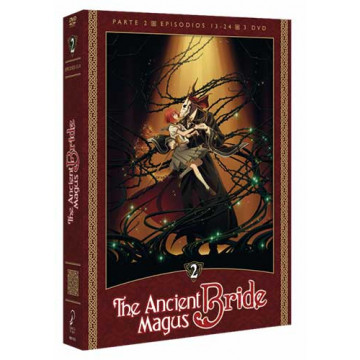 DVD THE ANCIENT MAGUS BRIDE (PARTE 2: EPISODIOS 13-24)