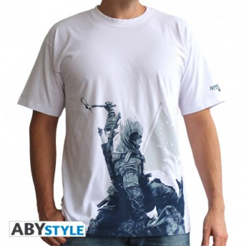 CAMISETA CONNOR A KNEEL DOWN ASSASSIN'S CREED TALLA L