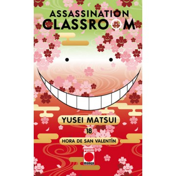ASSASSINATION CLASSROOM 18: HORA DE SAN VALENTÍN