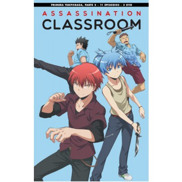 DVD ASSASSINATION CLASSROOM: TEMP 1 - PARTE 2 (EP. 12 A 22)