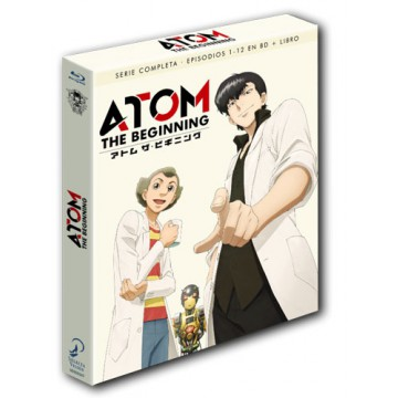 BLURAY ATOM: THE BEGINNING (SERIE COMPLETA EPISODIOS 1 - 12)