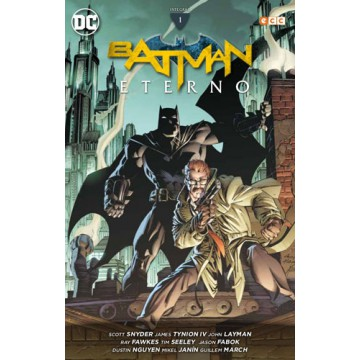 BATMAN ETERNO: INTEGRAL VOL. 01