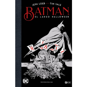 BATMAN: EL LARGO HALLOWEEN (ED. DELUXE LIMITADA EN B/N)