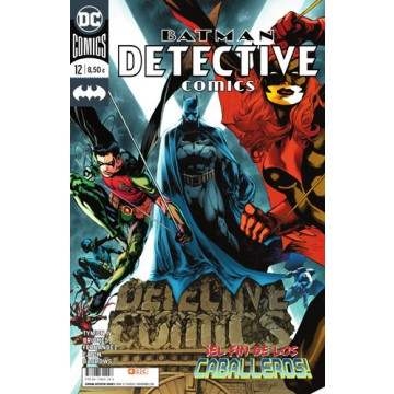 BATMAN: DETECTIVE COMICS 12