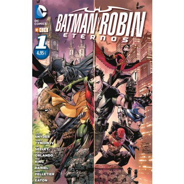 BATMAN Y ROBIN ETERNOS 01