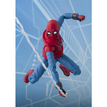 FIGURA SPIDER-MAN HOME MADE SUIT & TAMASHII ACT WALL (SPIEDR-MAN HOMECOMING) - S.H.FIGUARTS
