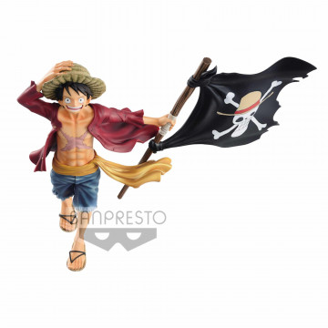 FIGURA MONKEY D LUFFY 20 TH (ONE PIECE) - MAGAZINE