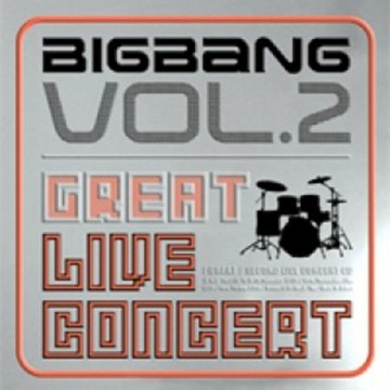CD BIGBANG - GREAT LIVE CONCERT