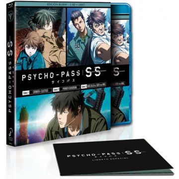 BLURAY PSYCHO PASS SINNERS OF THE SYSTEM ED. COLECCIONISTAS