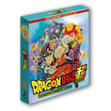 BLURAY DRAGON BALL SUPER BOX 03: LA SAGA DEL TORNEO DE CHAMPA (EP. 28 A 40 - EDICIÓN COLECCIONISTA)