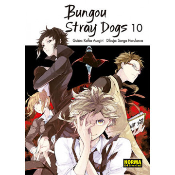 BUNGOU STRAY DOGS 10