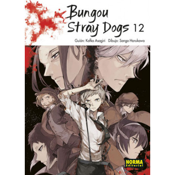 BUNGOU STRAY DOGS 12