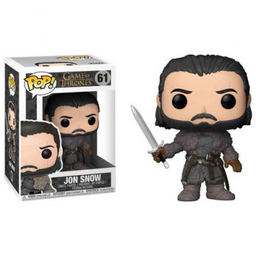 FIGURA JON SNOW BEYOND THE WALL (GAME OF THRONES) - FUNKO POP