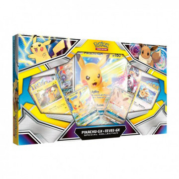 CAJA PIKACHU GX & EEVEE (POKEMON) - GX COLLECTION