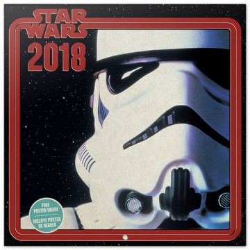 CALENDARIO STAR WARS STORMTROOPER 2018