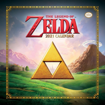CALENDARIO THE LEGEND OF ZELDA  2021