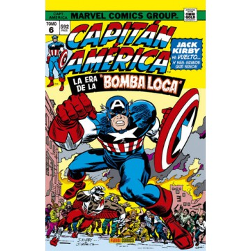 "CAPITÁN AMÉRICA Y EL HALCÓN 06: LA ERA DE LA ""BOMBA LOCA""  (Marvel Gold Omnibus)"