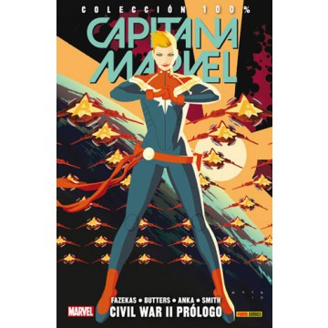CAPITANA MARVEL 05: CIVIL WAR II PRÓLOGO