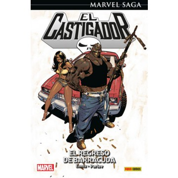 EL CASTIGADOR 08: EL REGRESO DE BARRACUDA (Marvel Saga 42)