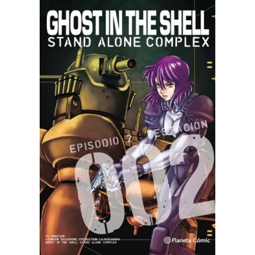 GHOST IN THE SHELL: STAND ALONE COMPLEX 02 (de 5)