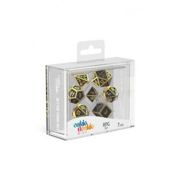 SET DADOS DE METAL RPG (OAKIE DOAKIE) - ALCHEMY GOLD