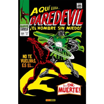 DAREDEVIL 02: EL HOMBRE SIN MIEDO (Marvel Gold Omnibus)