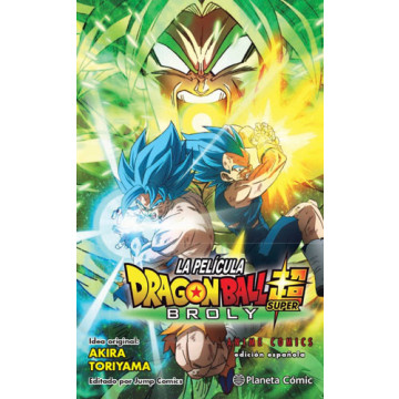 DRAGON BALL SUPER: BROLY (ANIME COMICS)