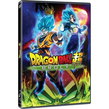 DVD DRAGON BALL SUPER BROLY, LA PELÍCULA