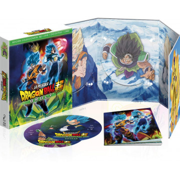 BLURAY DRAGON BALL SUPER BROLY LA PELICULA ED. COLECIONISTA