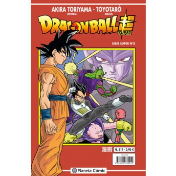 DRAGON BALL SUPER 08 (SERIE ROJA Nº 219)