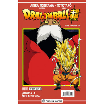 DRAGON BALL SUPER 27 (SERIE ROJA Nº 238)