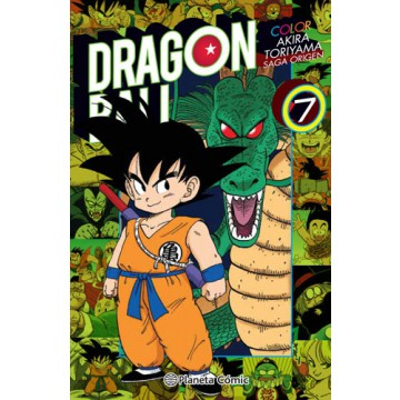 DRAGON BALL COLOR: ORIGEN Y RED RIBBON 07 (de 8)