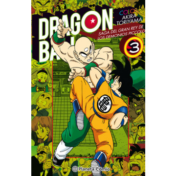 DRAGON BALL COLOR: PICCOLO 03 (de 04)