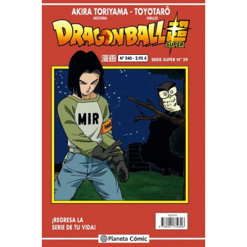 DRAGON BALL SUPER 29 (SERIE ROJA Nº 240)