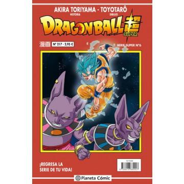 DRAGON BALL SUPER 06 (SERIE ROJA Nº 217)