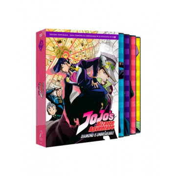 DVD JOJO´S BIZARRE ADVENTURE TEMP 3 - PARTE 1 - DIAMOND´S UNBREAKABLE