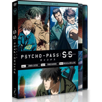 DVD PSYCHO PASS SINNERS OF THE SYSTEM