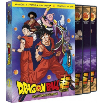 DVD DRAGON BALL SUPER BOX 07: LA SAGA DEL TORNEO DEL PODER (77 A 90)