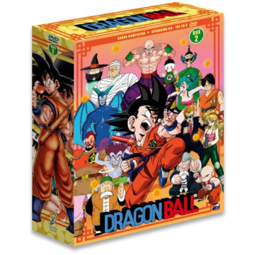 DVD DRAGON BALL SAGAS COMPLETAS BOX 2 - EPISODIOS DEL 69 AL 101