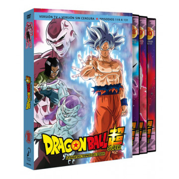 DVD DRAGON BALL SUPER BOX 10 LA SAGA DEL TORNEO DE PODER